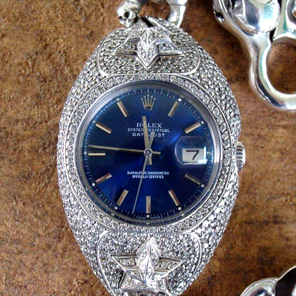 WATCH BRACELET STAR BLUE