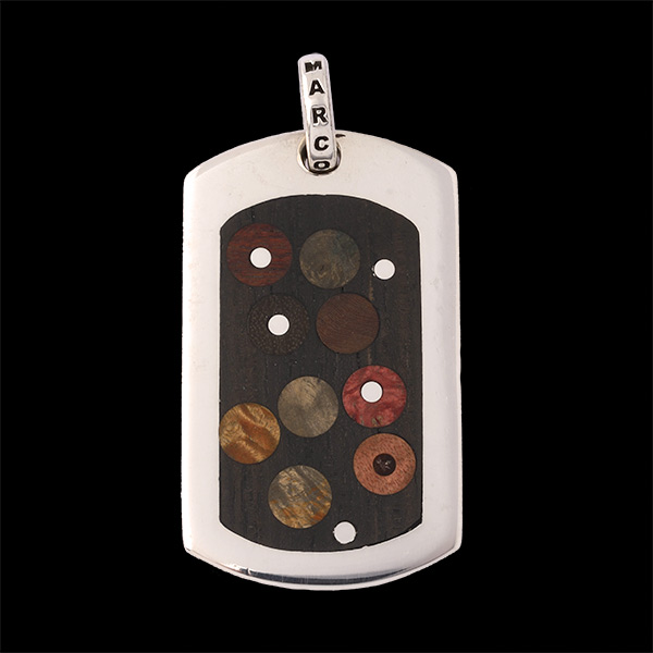Large Wood Dogtag Custom