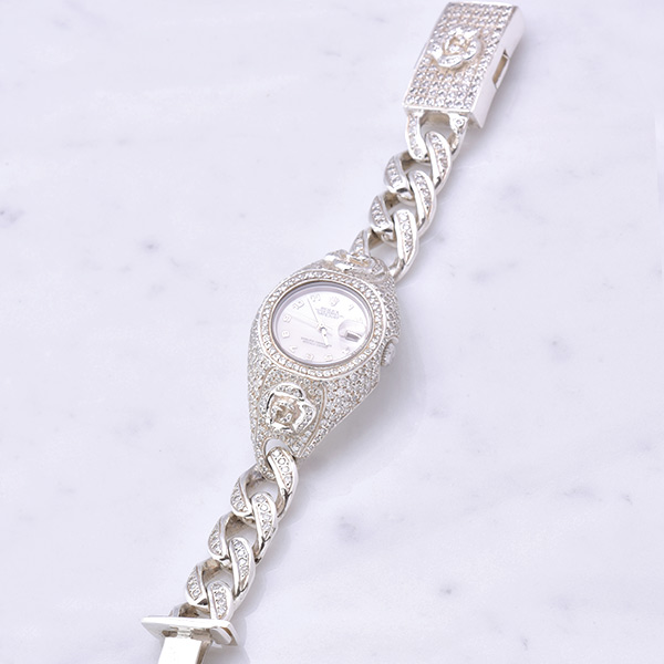 WATCH BRACELET ROSE