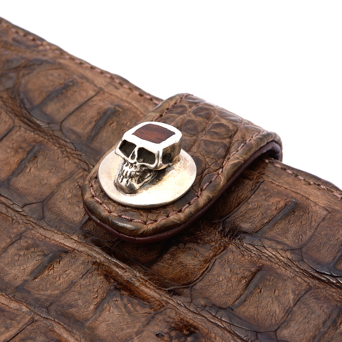 Crocodile Skull Wallet