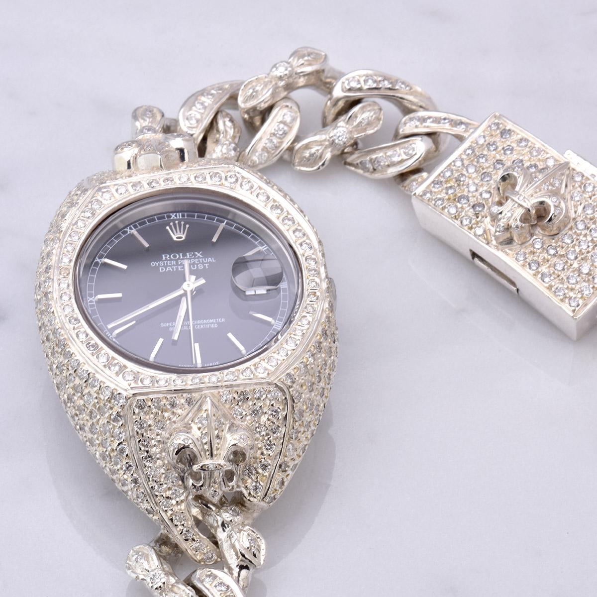 DIAMOND WATCH BRACELET FDL